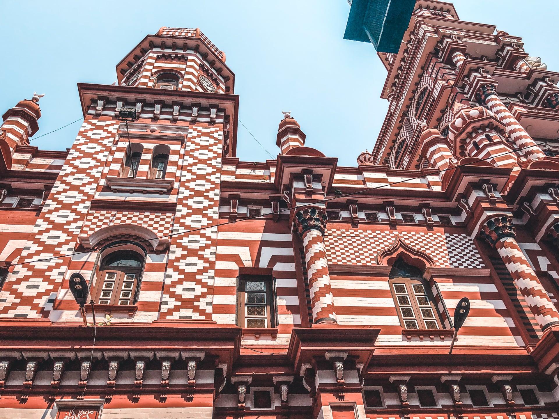Jami Ul-Afar Moskeen i Colombo